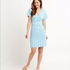 NWOT Vineyard Vines railing print dress